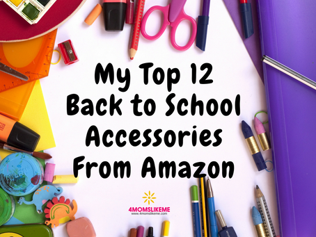 My Top 12 Back-To-School Accessories for Kids on Amazon