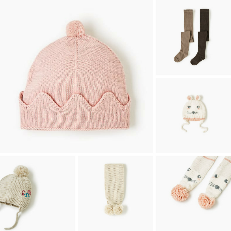 Zara Kids Winter Accessories