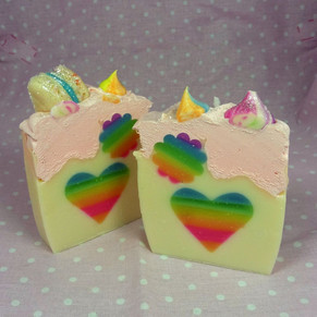 tranche rainbow coeur