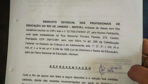 SEPE protocola representação no MP-RJ contra o fechamento do Liceu Carlos Chagas