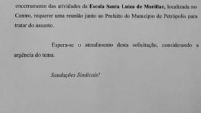 SEPE Petrópolis solicita reunião com Prefeitura para tratar de Escola Santa Luiza de Marillac