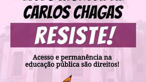 #LiceuCarlosChagasfica