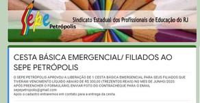 Cesta Básica Emergencial / Filiados Petrópolis