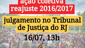 TJRJ julgará reajustes de 2016 e 2017 [Petrópolis]