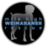 Mile High Weimaraner Rescue SM Logo.png