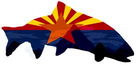 Arizona Flag Trout Logo