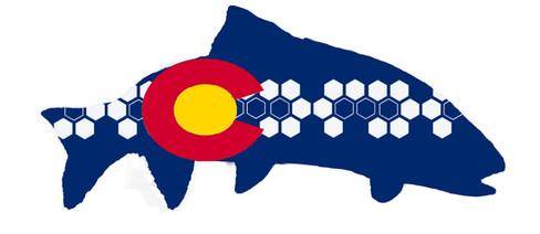Modern Colorado Flag Trout