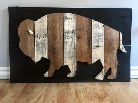Rustic Wood Buffalo.jpg