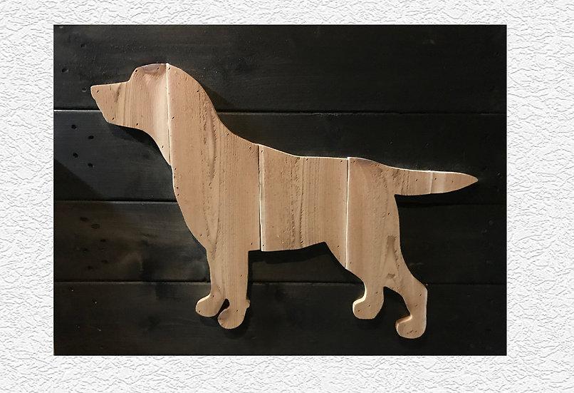 Rustic Labrador Retriever Wall Decor