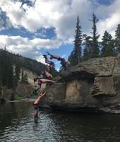Adam Floating On Water