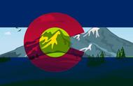 Colorado Flag Art