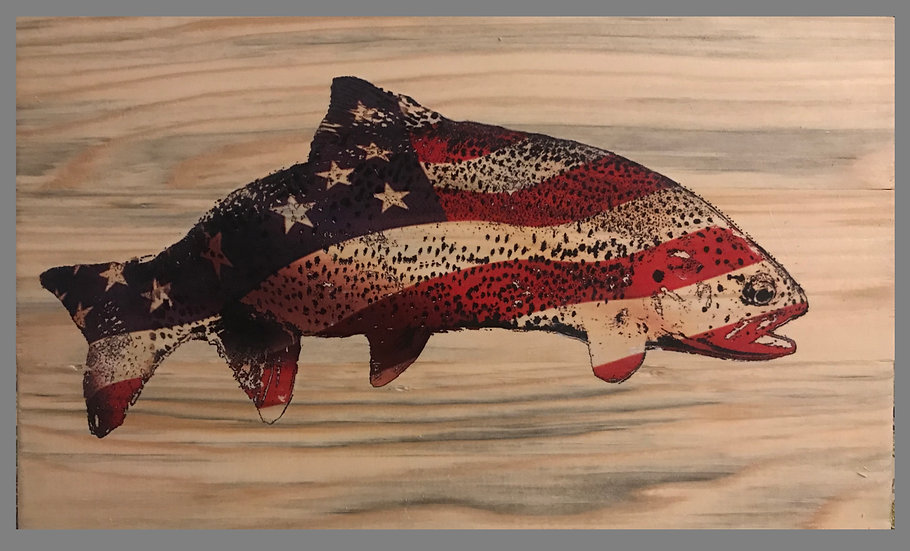 New American Trout Flag Design!