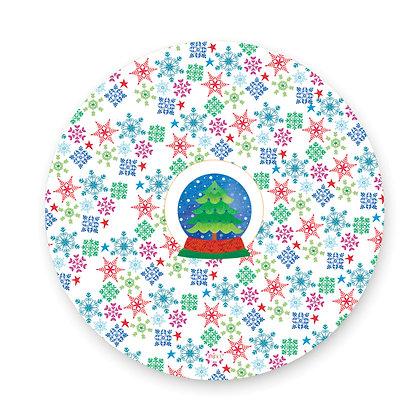ראנר פיויסי עגול- דגם עץ חג