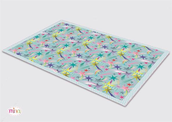 לילדים- דגם כוכבים pvc שטיח