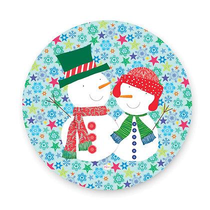 ראנר פיויסי עגול- דגם חברים בשלג
