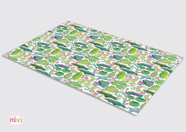שטיח pvc דגם גינה קסומה