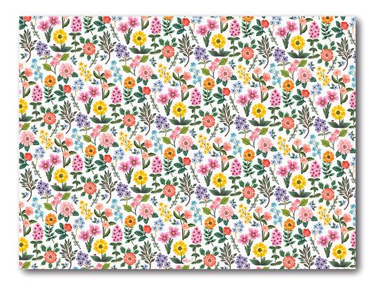 שטיח pvc דגם פרחים