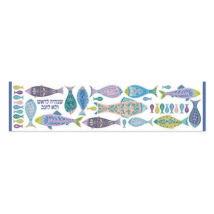 ראנר פי.וי.סי- דגם דגים