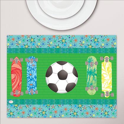 פלייסמט מפיויסי ילדים- דגם כדורגל