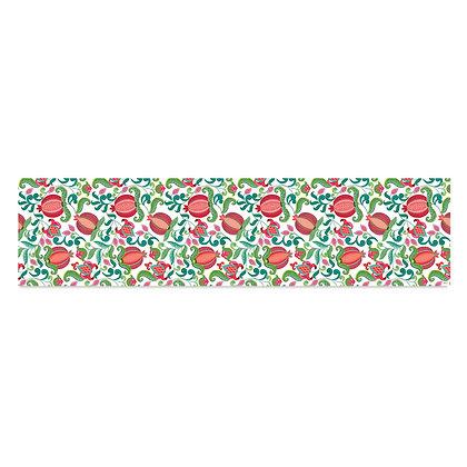ראנר פיויסי- דגם רימונים ופרחים