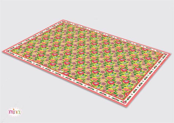 שטיח pvc דגם כפרי