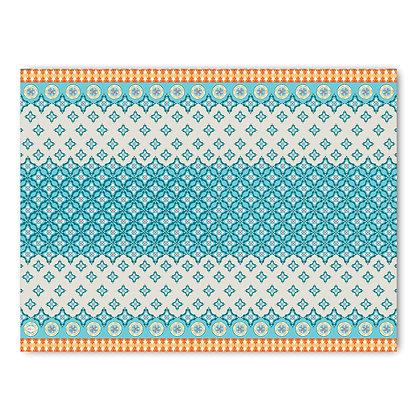 שטיח pvc דגם אתני משולב