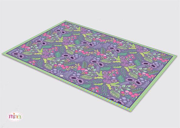 שטיח pvc דגם לילך