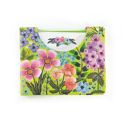 מארז אגרות מיני פרחים ירוק