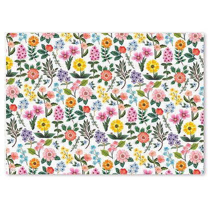 פלייסמט פיויס- דגם פרחים