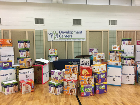 Development Centers and Diapers