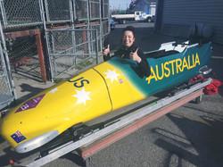 Elana Withnall Australian Bobsleigh Pilot