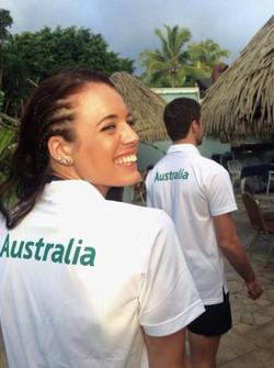 Elana Withnall Australian Athletics Team Captain