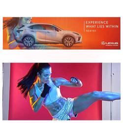 Elana Withnall Lexus Australia Billboard