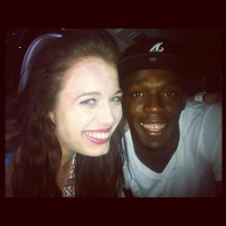 Elana Withnall Usain Bolt