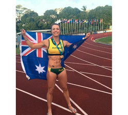 Elana Withnall - Oceania Heptathlon Champion 2014