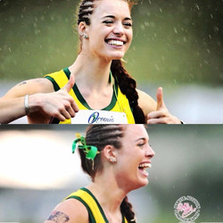Elana Withnall Oceania Champion Heptathlon