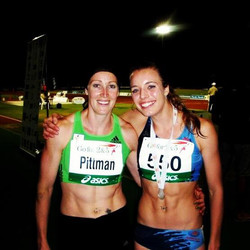 Jana Pittman & Elana Withnall Australian Athletics Championships 2011