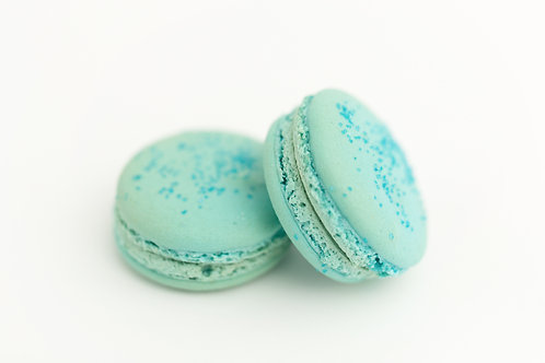 Blue Macarons (6 min per order)