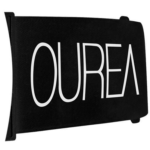 Black Logo Strap