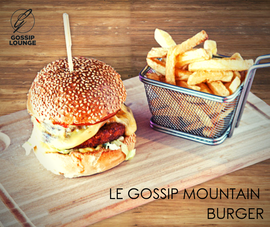 LE GOSSIP MOUNTAIN BURGER