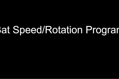 Bat Speed/Rotation Program