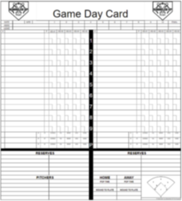 Game Day Cards