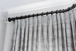 Inverted Pleat Curtains Suffolk