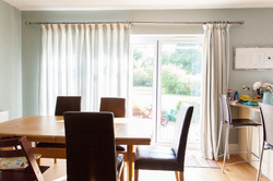 Lined Pencil  Pleat Curtains