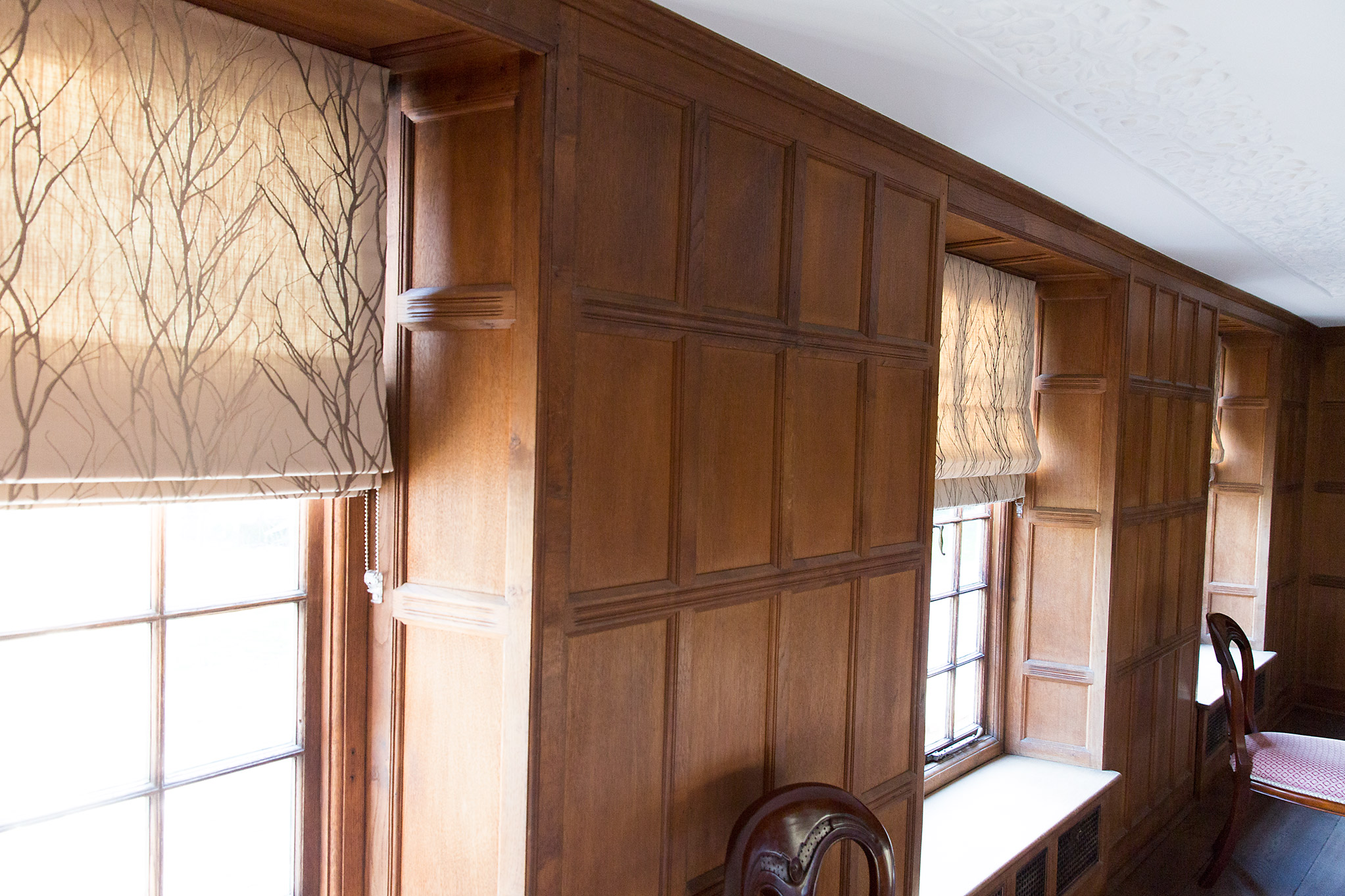 Panelled Dining Room Suffolk
