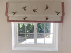 Hummingbird Roman Blind Suffolk