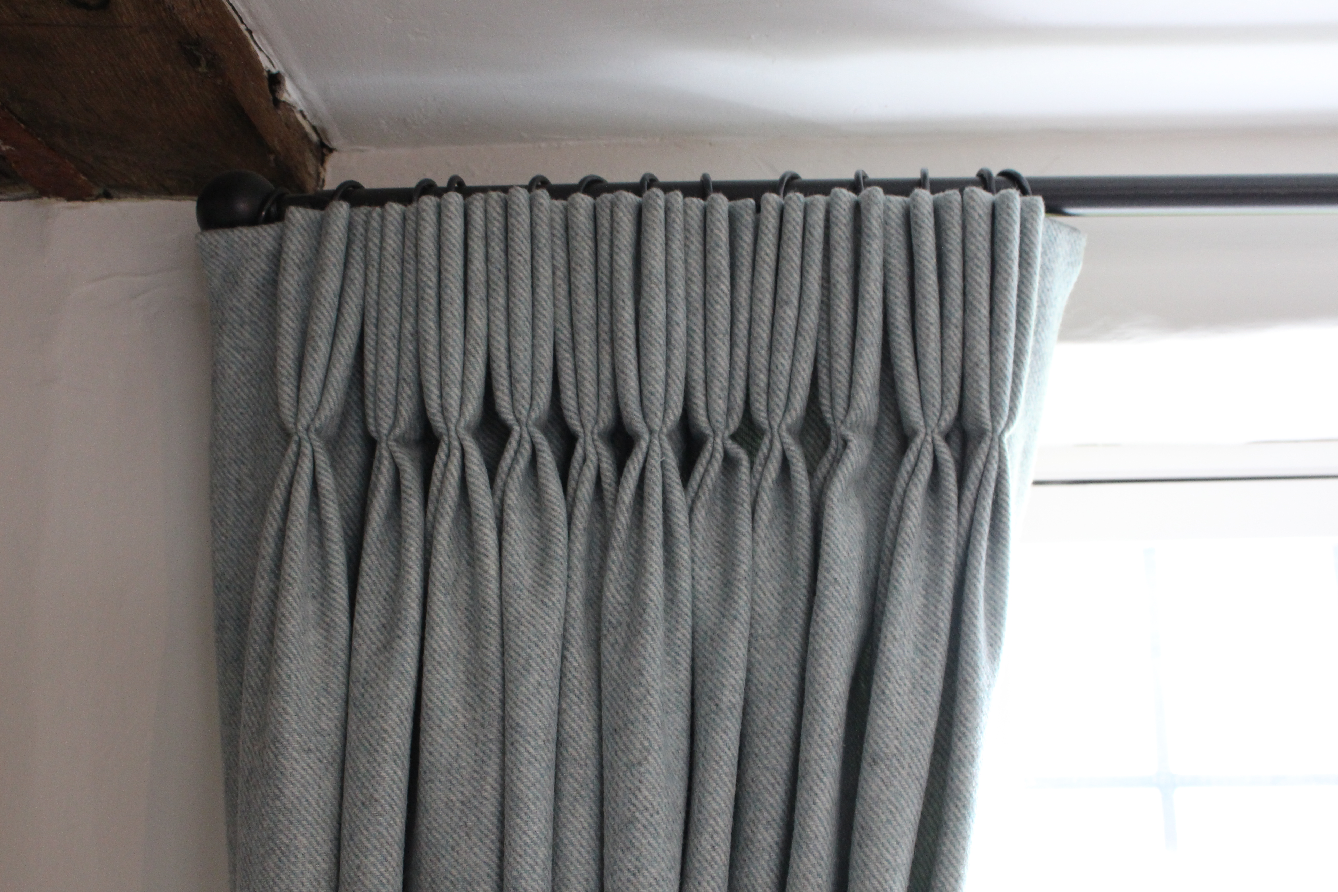 Wool curtains Suffolk