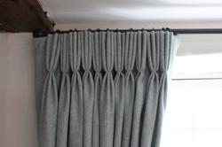 Wool curtains Suffolk