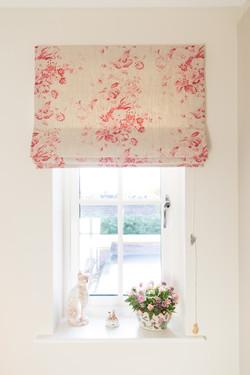 Vintage Floral Roman Blind Suffolk