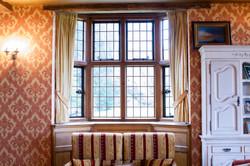 Gold velvet curtains Suffolk